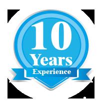 Experiencia de 10 años