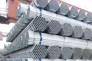 Hot dipped round steel pipe price
