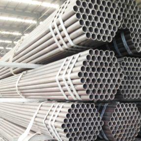 Tubos de acero redondo laminado en caliente