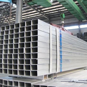 Tubos de acero pre galvanizado cuadrado y rectángulo