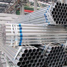 Aplicaciones de tubos de acero galvanizado.