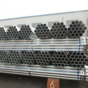Tecnología de soldadura de tubos de acero galvanizado.